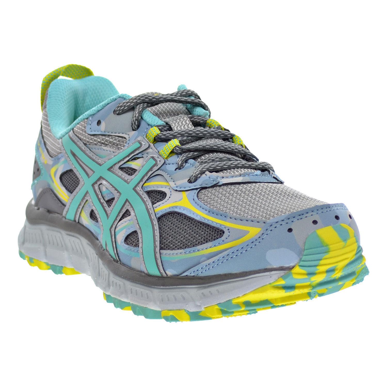 Asics Gel-Scram 3 Women's Running Shoes Mid Grey/Turquoise/Aluminum size 6 Casual wild