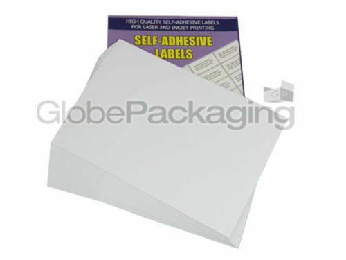 2 PER SHEET QUALITY A4 SELF ADHESIVE PRINTER ADDRESS LABELS *OFFER* 50 SHEETS