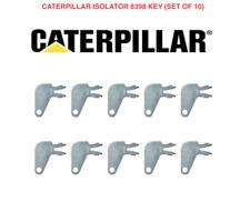 6 Pack Master Caterpillar cat2 Battery Keys Cat Isolator Shut Off on disconnect