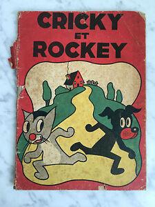 Las-Aventuras-Heroica-Cricky-Y-Rockey-Robert-Rigot-Ediciones-R-touret-1934