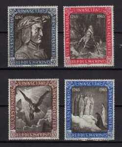 14193a) DEALER STOCK SAN MARINO 1965 MNH** Dante Alighieri (X10 SETS)