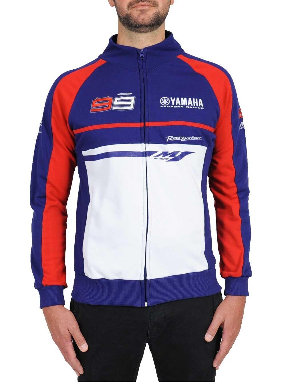 NEU Official Jorge Lorenzo Doppel Yamaha Sweatshirt Fleece - 15 27001