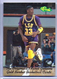 Details About Shaquille Oneal Classic College Promo Rookie Card Lsu Tigers 4x Nba Champ