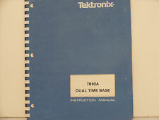 Tektronix 7B92A Dual Time Base Instruction Manual