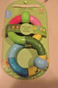 Green-Sprouts-Infinity-Rattle-Sensory-Interactive-BPA-PVC-Free-Age-3-Plus-NEW