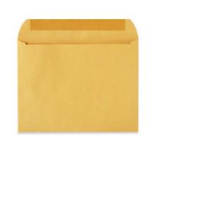 """Kraft 12 x 9/"""" Pack Of 50 ULINE Booklet Gummed Envelopes"""