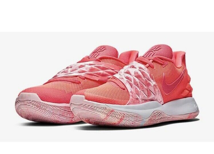 Men's Nike Kyrie Low 1 -  Hot Punch  Hot Punch White (AO8979-600) Size 9