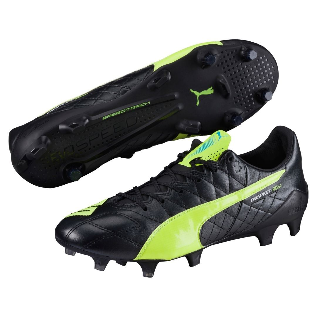 PUMA evoSPEED SL (Leather) FG Men's Soccer Cleats Style 103260 05 MSRP  150