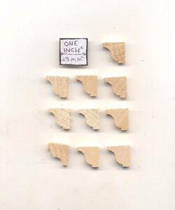 Shelf-Braces-2-mantel-corbel-dollhouse-window-trim-10ps-1-12-scale