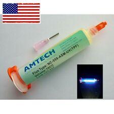 Nc 559 Asm Uv Traceable Solder Paste Flux No Clean Tacky Best Ones Amtech 10cc