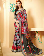 Designer Weightless Chiffon Saree Multi Color Casual Wear