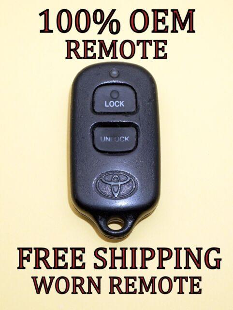 TOYOTA CELICA MR2 RAV4 TACOMA keyless entry remote fob transmitter BAB237131-056