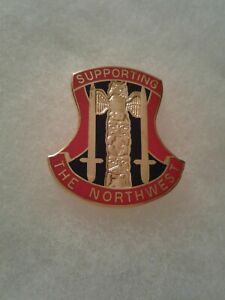 Authentic-US-Army-654th-Support-Group-Unit-DI-DUI-Insignia-Crest-I21