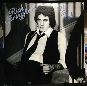 RICK SPRINGFIELD Wait For Night Album Released 1976 Vinyl/Record Collection USA