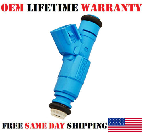 Dodge Ram 1500 3.7L SINGLE OEM Bosch Fuel Injector for 2002-0003 Jeep Liberty