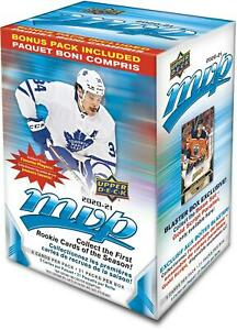 2020-21-Upper-Deck-MVP-Hockey-Factory-Sealed-21-Pack-Blaster-Box
