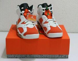 f89f0c964609 Nike Air Jordan 6 Retro Gatorade Sneakers 384664-145 US Men Size 9.5 ...