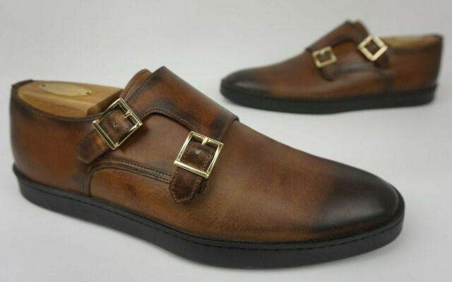 Fremont Double Monk Dress Sneaker Brown