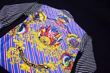 GRANDE Vintage donna VERSACE Washington Guardie Camicia