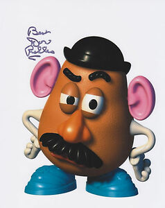 Details About Don Rickles Toy Story Mr Potato Head Signed 8x10 K9