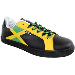 Jamaica flag low sneakers trainers shoes by streetwear black ebay image is loading jamaica flag low sneakers trainers shoes by streetwear voltagebd Gallery