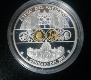 Citta del Vaticano Erstabschlag zur Euroeinführung 1.Januar 2002 - Magdeburg, Deutschland - Citta del Vaticano Erstabschlag zur Euroeinführung 1.Januar 2002 - Magdeburg, Deutschland