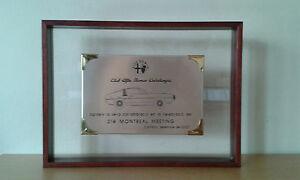 Usado-Placa-CLUB-ALFA-ROMEO-DE-CATALUNYA-2007-Item-for-Collectors