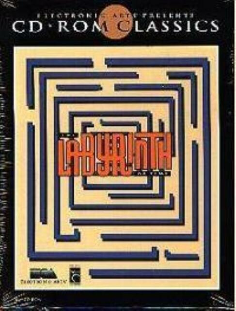 The Labyrinth of Time (PC-CD, 1993) for DOS - NEW CD in SLEEVE