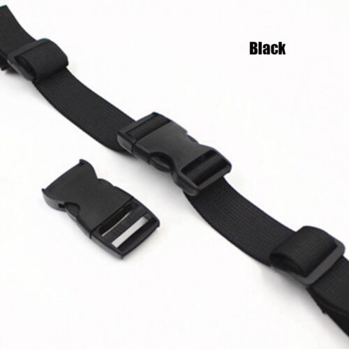 Adjustable Outdoor Backpack Nylon Chest Harness Strap Dual Release Bag Parts·