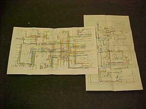 1975 ORIGINAL CADILLAC DEVILLE ELDORADO ELECTRICAL WIRING VACUUM DIAGRAM 75  OEM | eBayeBay