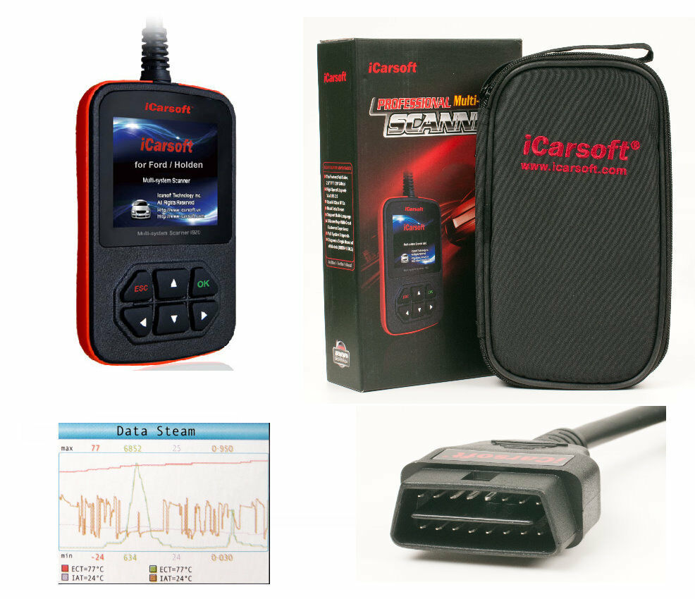 iCarsoft i920 Diagnosegerät Für Ford Focus Fusion Escort Explorer Montego Cougar
