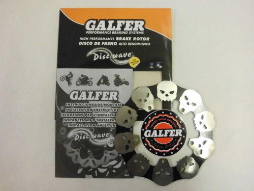 Galfer Skull Totenkopf Bremsscheibe vorne Piaggio Vespa Sfera ET2 ET4 50 125 150