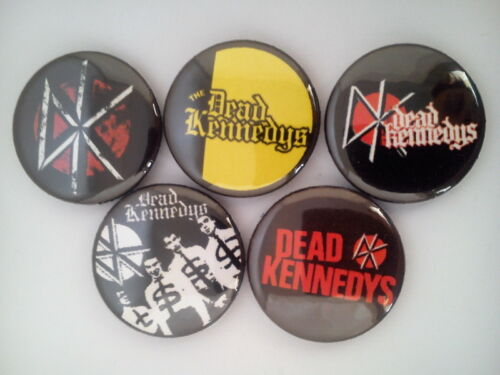 "hardcore punk music 5 x Dead Kennedys 1/"" Pin Button Badges"