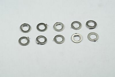 """Lot of 25 MS35333-108 MIL 1//4/"""" Internal Tooth Lock Washer 0.261/"""" ID 0.468/"""" OD"""