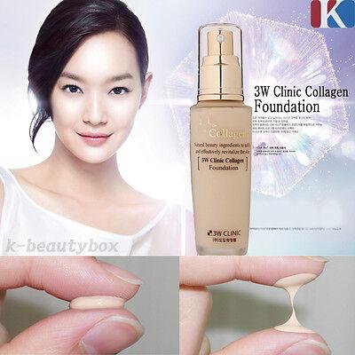 FACE FOUNDATION 3W Collagen Foundation 50ml Perfect Cover BB Cream CC Cream