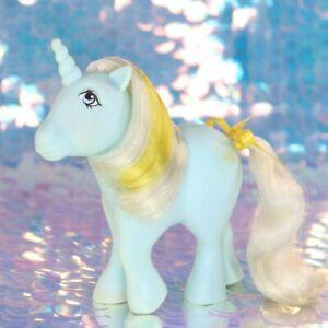 Vintage-My-Little-Pony-SUNBEAM-Mint-Green-Unicorn-Gold-Sun-G1-MLP-BH883