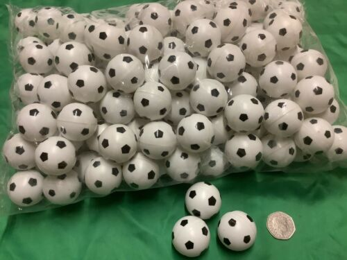 24X 40mm Mini Plastic Footballs,