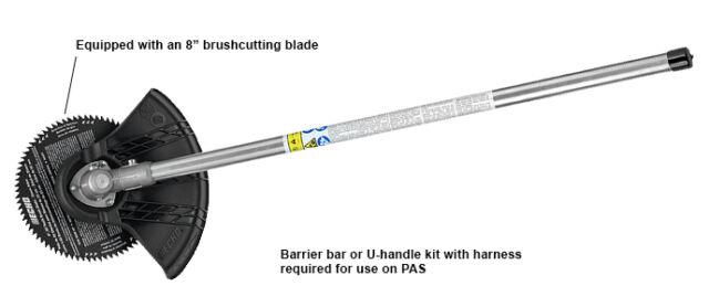 Echo Pas 225 230 266 280 99944200601 Brushcutter Attachment