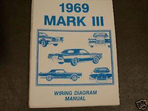 Stupendous 1969 Lincoln Mark Iii Wiring Diagram Manual Ebay Wiring Digital Resources Inamasemecshebarightsorg