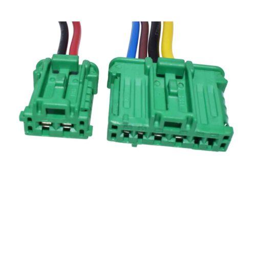 2 Blower Motor Resistor PLUG 7701207718 For Nissan Tiida Livina Renault Peugeot