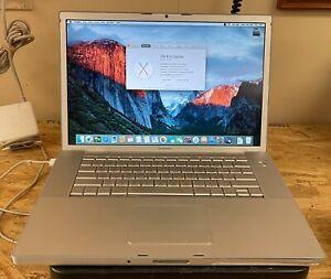 Apple MacBook Pro 15-inch July 2007 2.4GHz Intel Core 2 Duo (MA896LL)