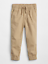 NWT BABY GAP BOYS JERSEY PULL-ON CANVAS JOGGERS navy blue PANTS u pick size