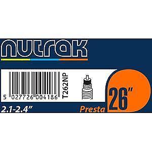 Nutrak 26 X 2.1-2.4 pouces prestations inner tube