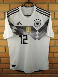 Germany Authentic Jersey 2019 Climachill M Shirt BR7313 Soccer Football Adidas