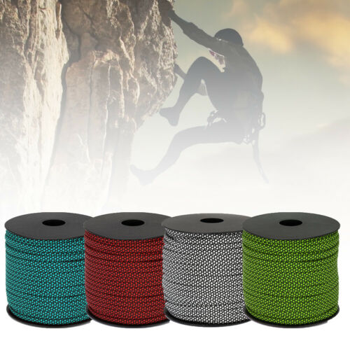 UK/_ Outdoor Camping Climbing Rope 50M 4mm Seven Core Rescue Rope Bundled Tent Ro