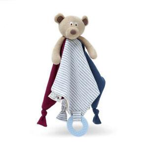 Image Is Loading Plush Bear Monkey Donkey Soothing Towel Baby Hand