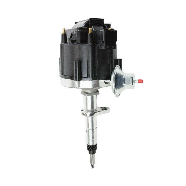 Top Street Performance JM6517BK HEI Distributor with Black Cap