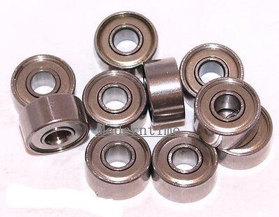 3 x 8 x 4 693zz Bearings Bearing Metal Seal Shielded Code 3x8x4mm