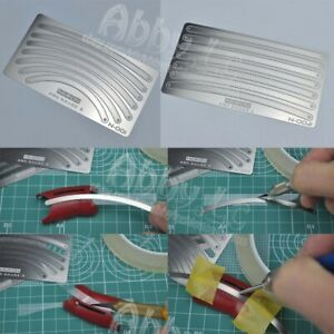 for Aircraft Military MG Gundam Model Neron Scriber Template Photo Etch Sheet