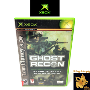 Tom-Clancys-Ghost-Recon-2002-Xbox-Original-Game-Microsoft-Case-Tested-amp-Works